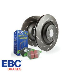 EBC brake disc and Greenstuff pads kit Front 280mm